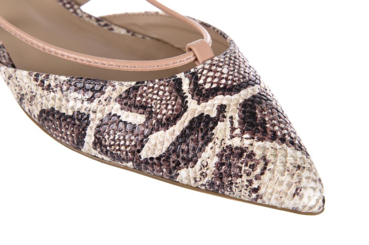 Sandały bayla-109 908008 s. ivory napa castor, beż/brąz, skóra ekologiczna - bayla - nasze marki 12
