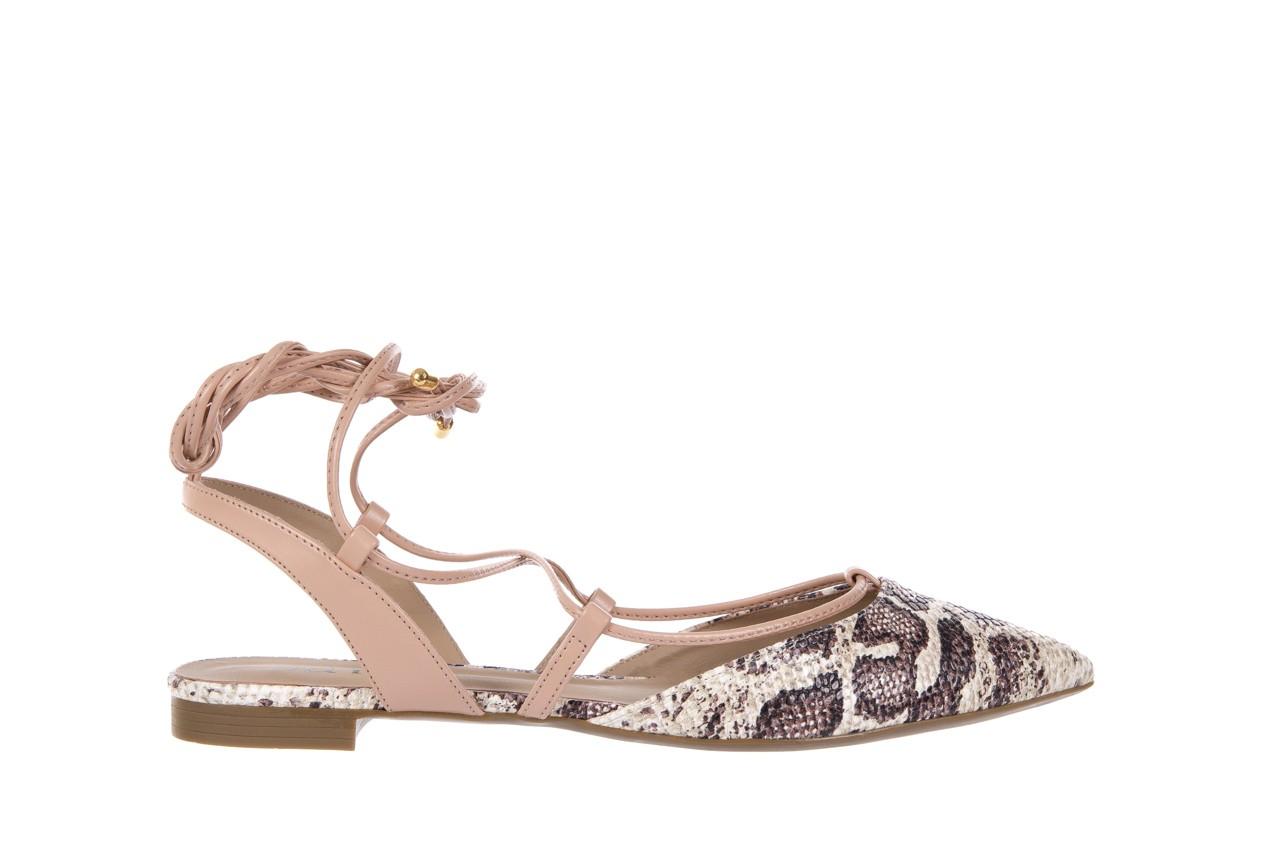 Sandały bayla-109 908008 s. ivory napa castor, beż/brąz, skóra ekologiczna - bayla - nasze marki 7