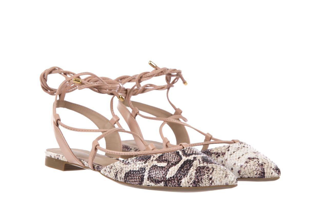 Sandały bayla-109 908008 s. ivory napa castor, beż/brąz, skóra ekologiczna - bayla - nasze marki 8