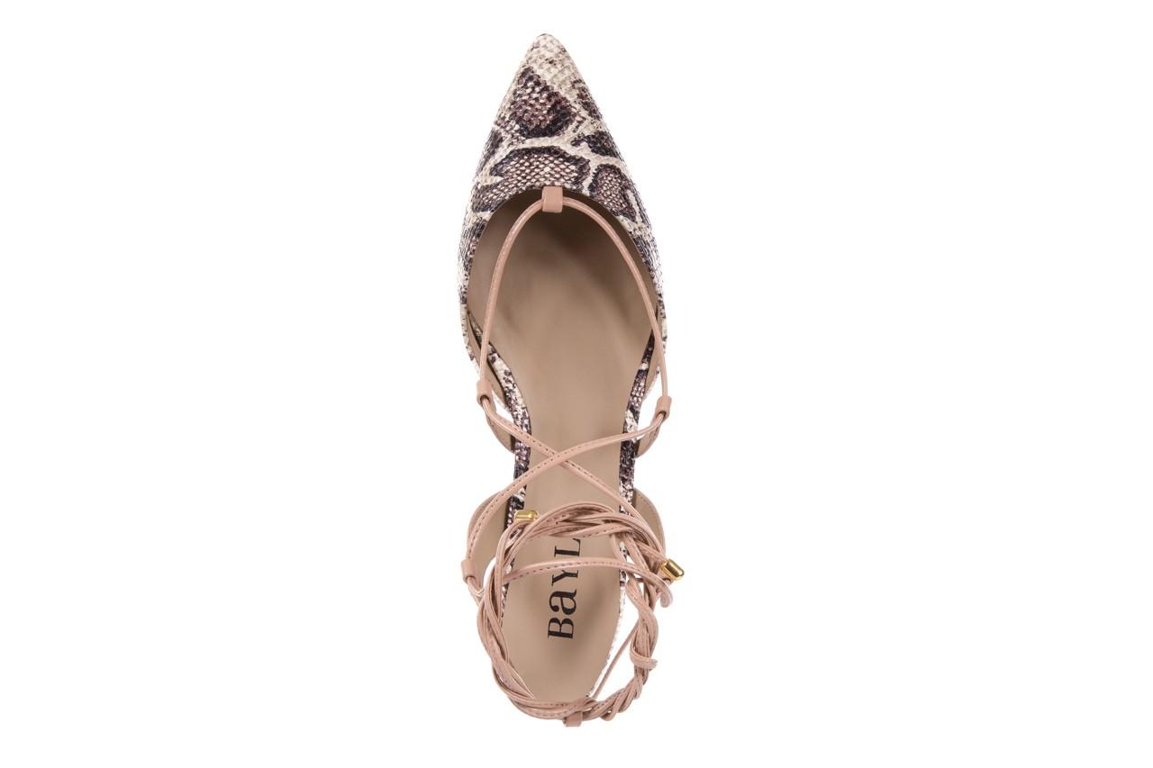 Sandały bayla-109 908008 s. ivory napa castor, beż/brąz, skóra ekologiczna - bayla - nasze marki 11
