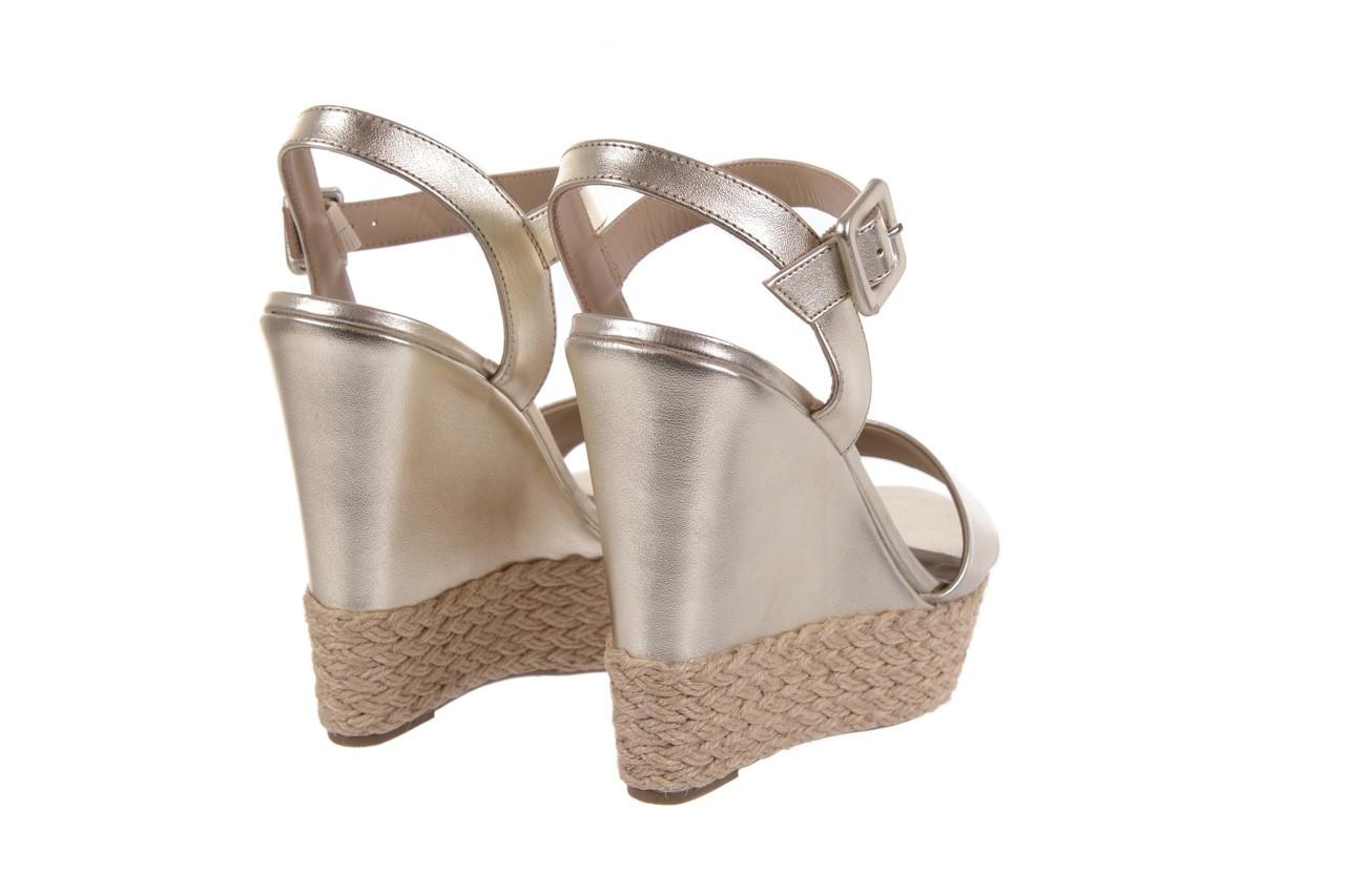 Sandały bayla-109 911001 np met gold rope nat, beż, skóra ekologiczna - bayla - nasze marki 10