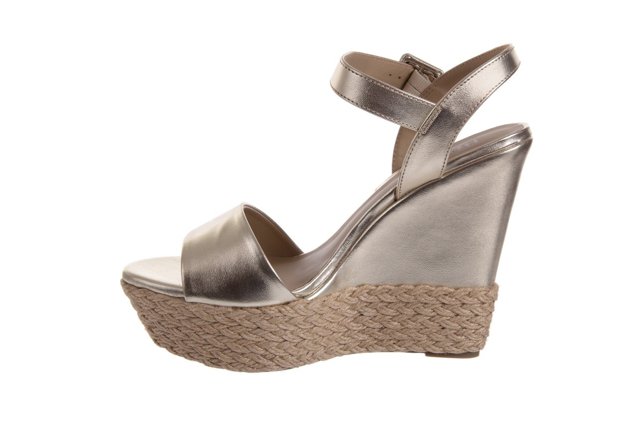 Sandały bayla-109 911001 np met gold rope nat, beż, skóra ekologiczna - bayla - nasze marki 9