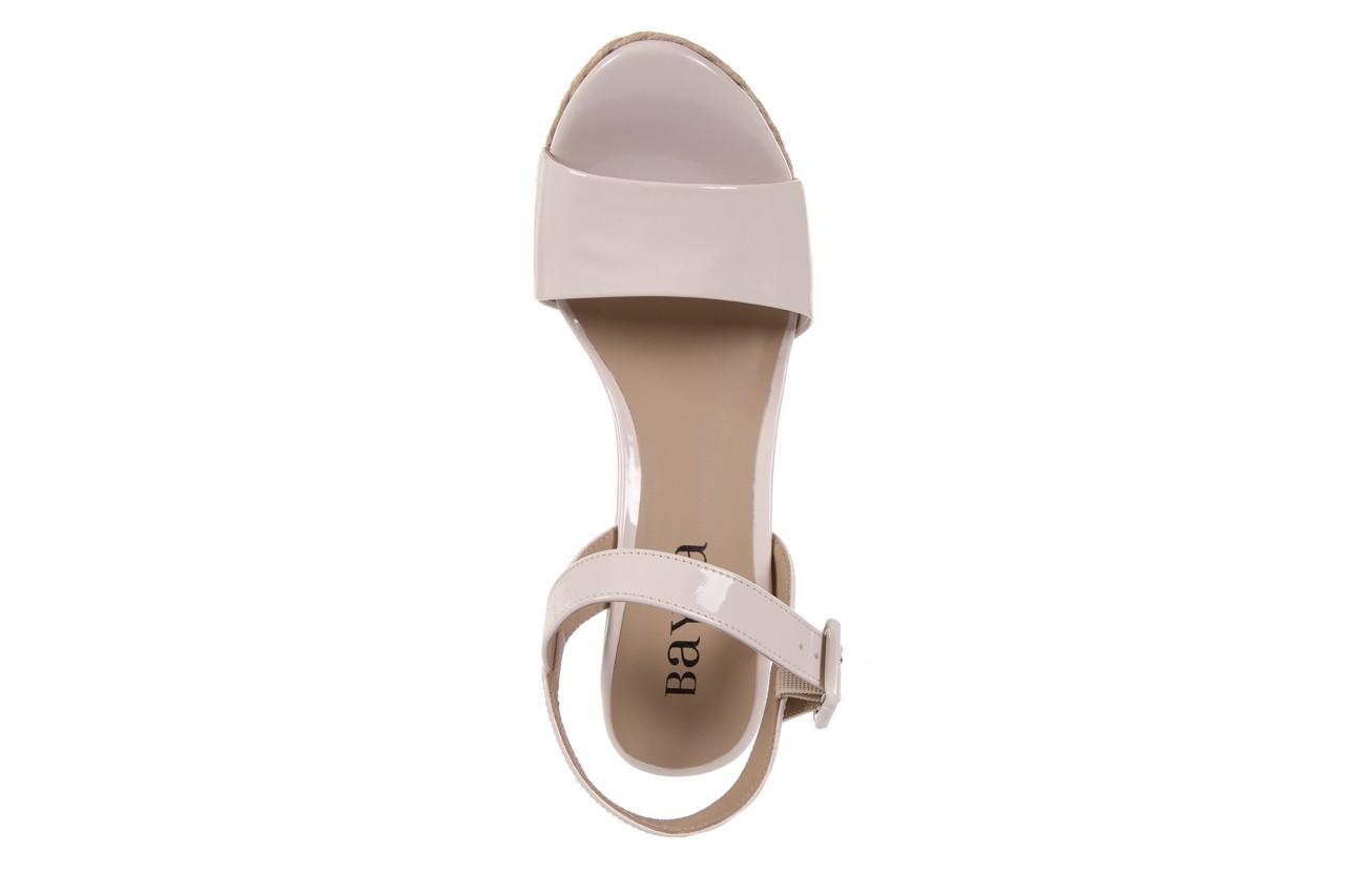 Sandały bayla-109 911001 varnish ivory, beż, skóra ekologiczna lakierowana - bayla - nasze marki 11