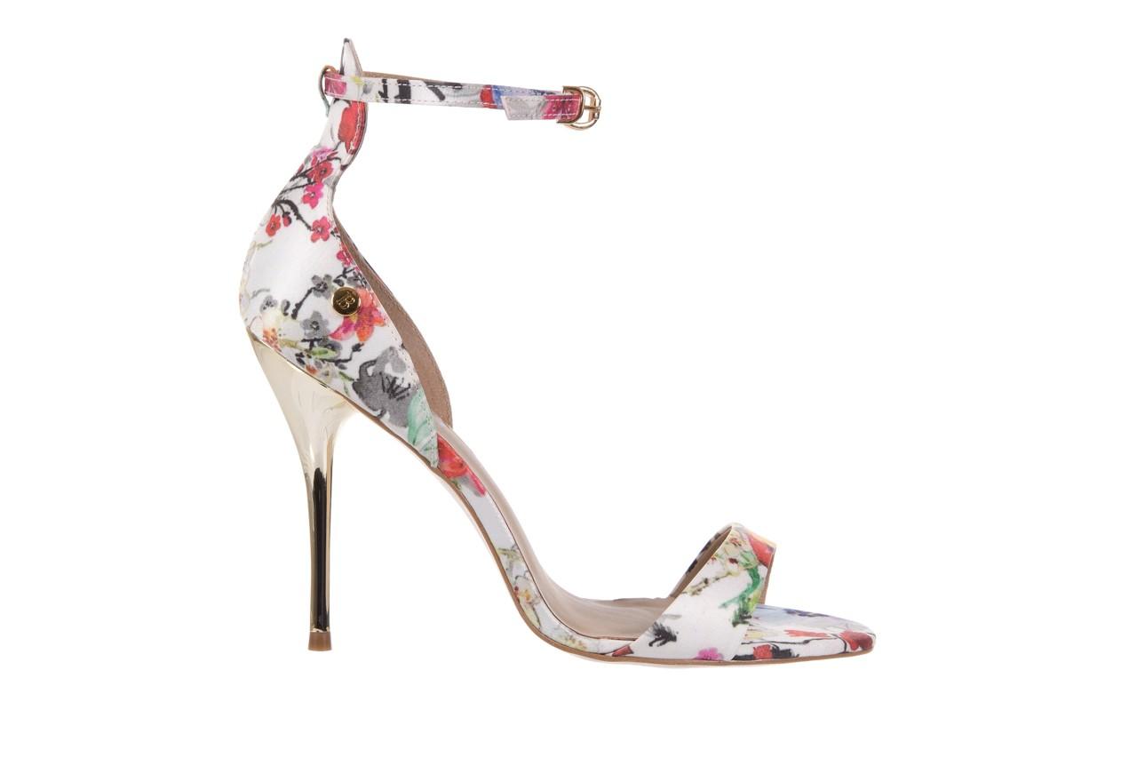 Sandały bayla-109 914002 satin flora, wielkolorowy, materiał - bayla - nasze marki 7