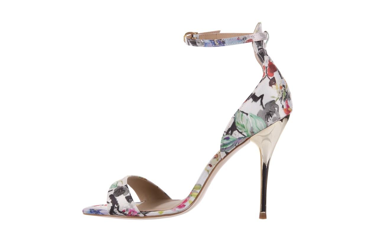 Sandały bayla-109 914002 satin flora, wielkolorowy, materiał - bayla - nasze marki 9