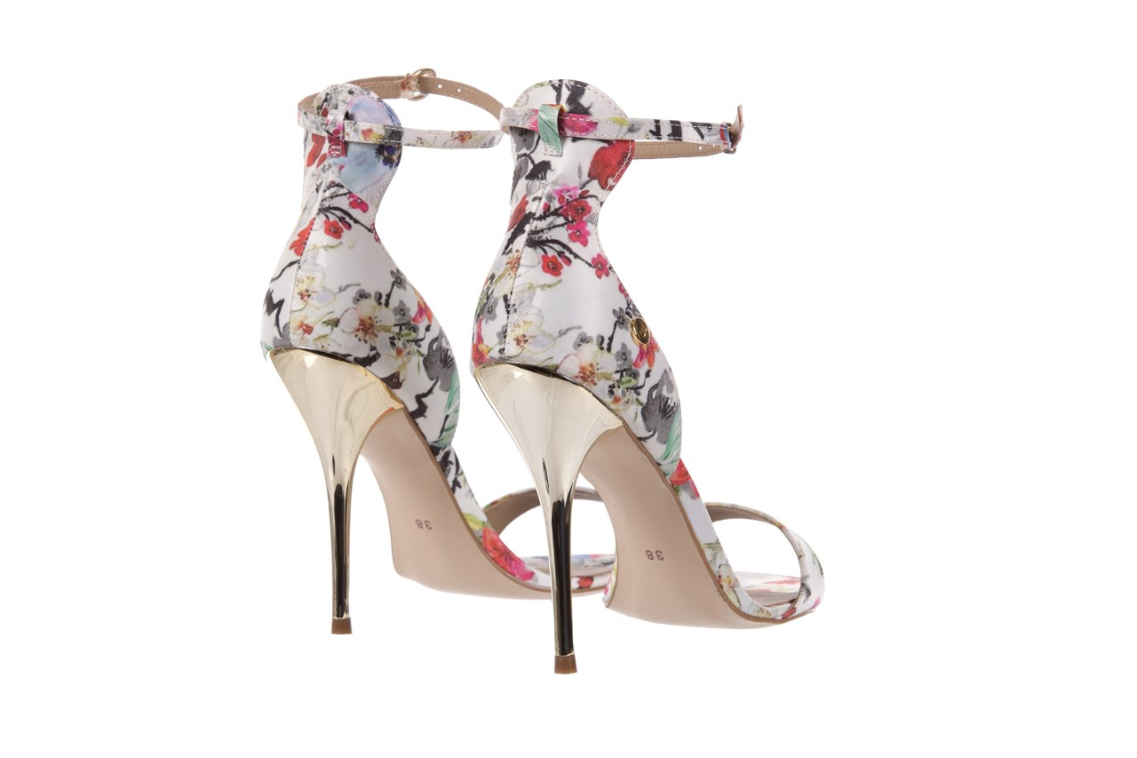 Sandały bayla-109 914002 satin flora, wielkolorowy, materiał - bayla - nasze marki 10
