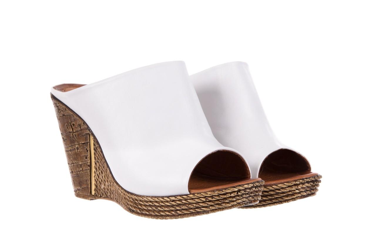 Klapki bayla-112 270-88 by beyaz - white 16, biały, skóra naturalna - bayla - nasze marki 8