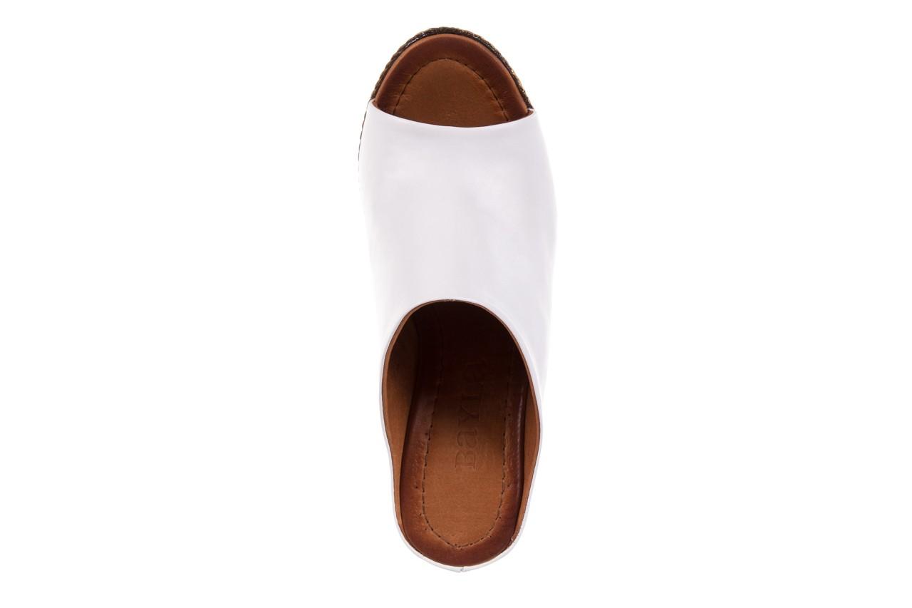 Klapki bayla-112 270-88 by beyaz - white 16, biały, skóra naturalna - bayla - nasze marki 11
