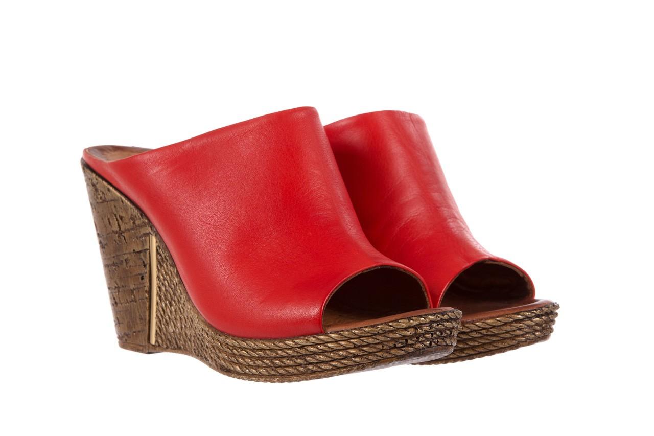 Klapki bayla-112 270-88 by kirmizi, czerwony, skóra naturalna  - bayla - nasze marki 8
