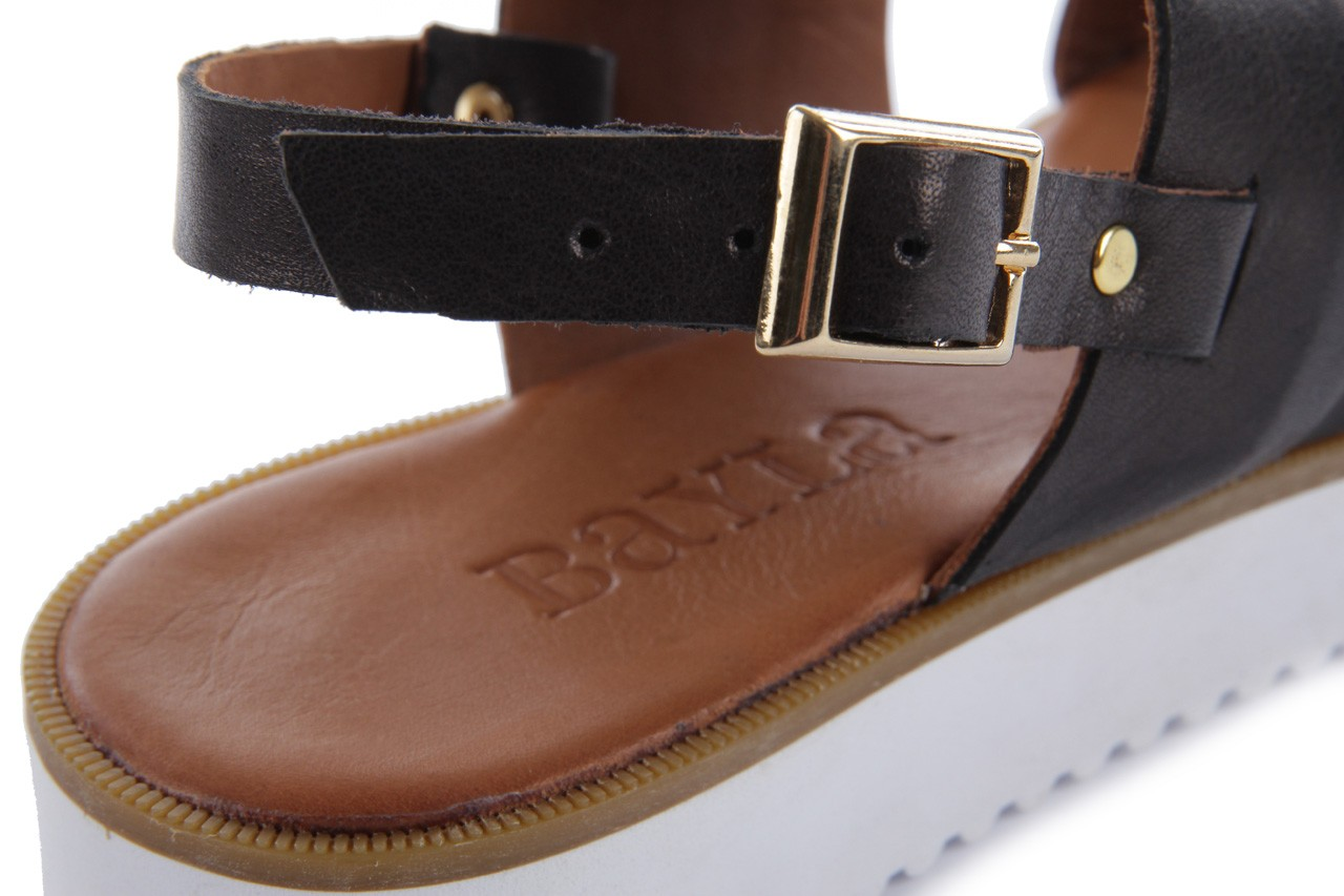 Sandały bayla-112 428-015.2263 siyah - black, czarny, skóra naturalna - bayla - nasze marki 11
