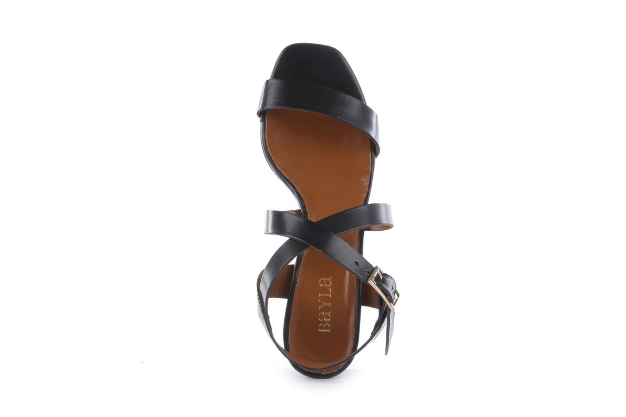 Sandały bayla-114 1310 nero, czarny, skóra naturalna - bayla - nasze marki 11
