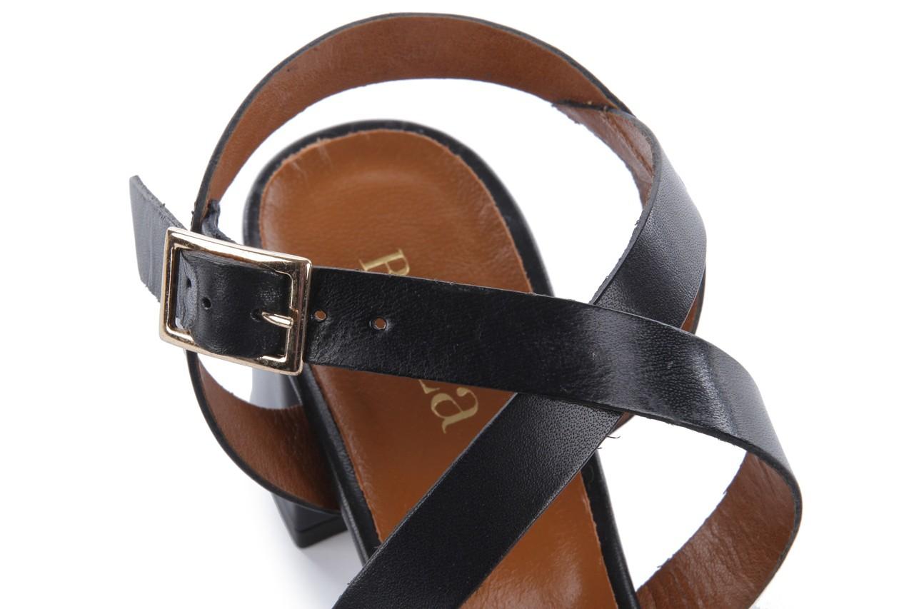 Sandały bayla-114 1310 nero, czarny, skóra naturalna - bayla - nasze marki 12
