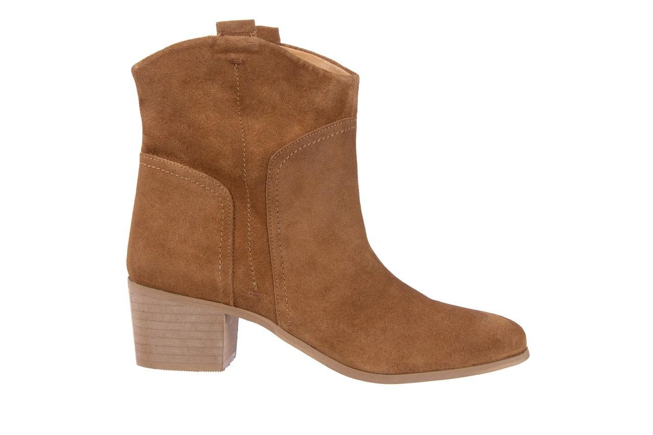 Botki bayla-118 3001 crosta cuoio, brąz, skóra naturalna  - kowbojki / boho - botki - buty damskie - kobieta 6