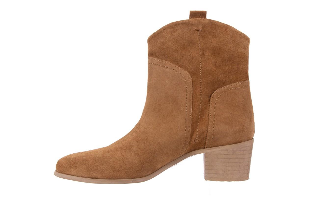 Botki bayla-118 3001 crosta cuoio, brąz, skóra naturalna  - kowbojki / boho - botki - buty damskie - kobieta 8