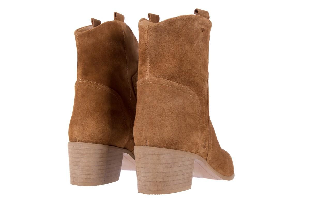 Botki bayla-118 3001 crosta cuoio, brąz, skóra naturalna  - kowbojki / boho - botki - buty damskie - kobieta 9