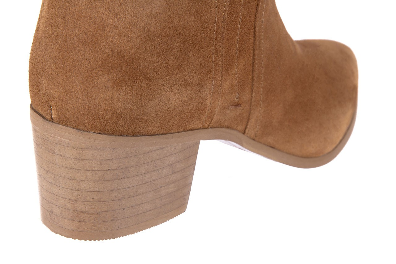 Botki bayla-118 3001 crosta cuoio, brąz, skóra naturalna  - kowbojki / boho - botki - buty damskie - kobieta 10