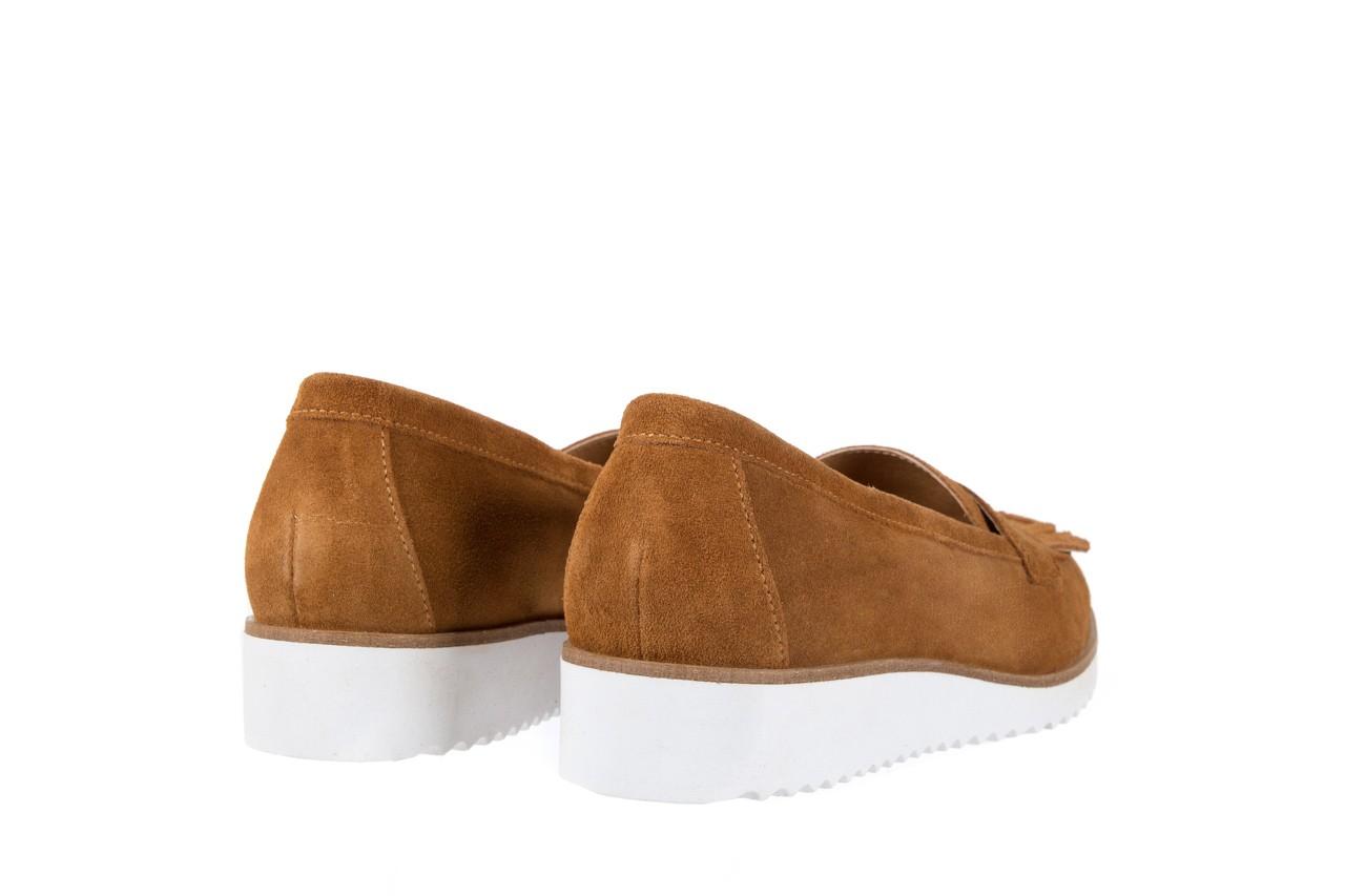 Mokasyny bayla-118 3076 crosta cuoio, brąz, skóra naturalna  - zamszowe - półbuty - buty damskie - kobieta 10