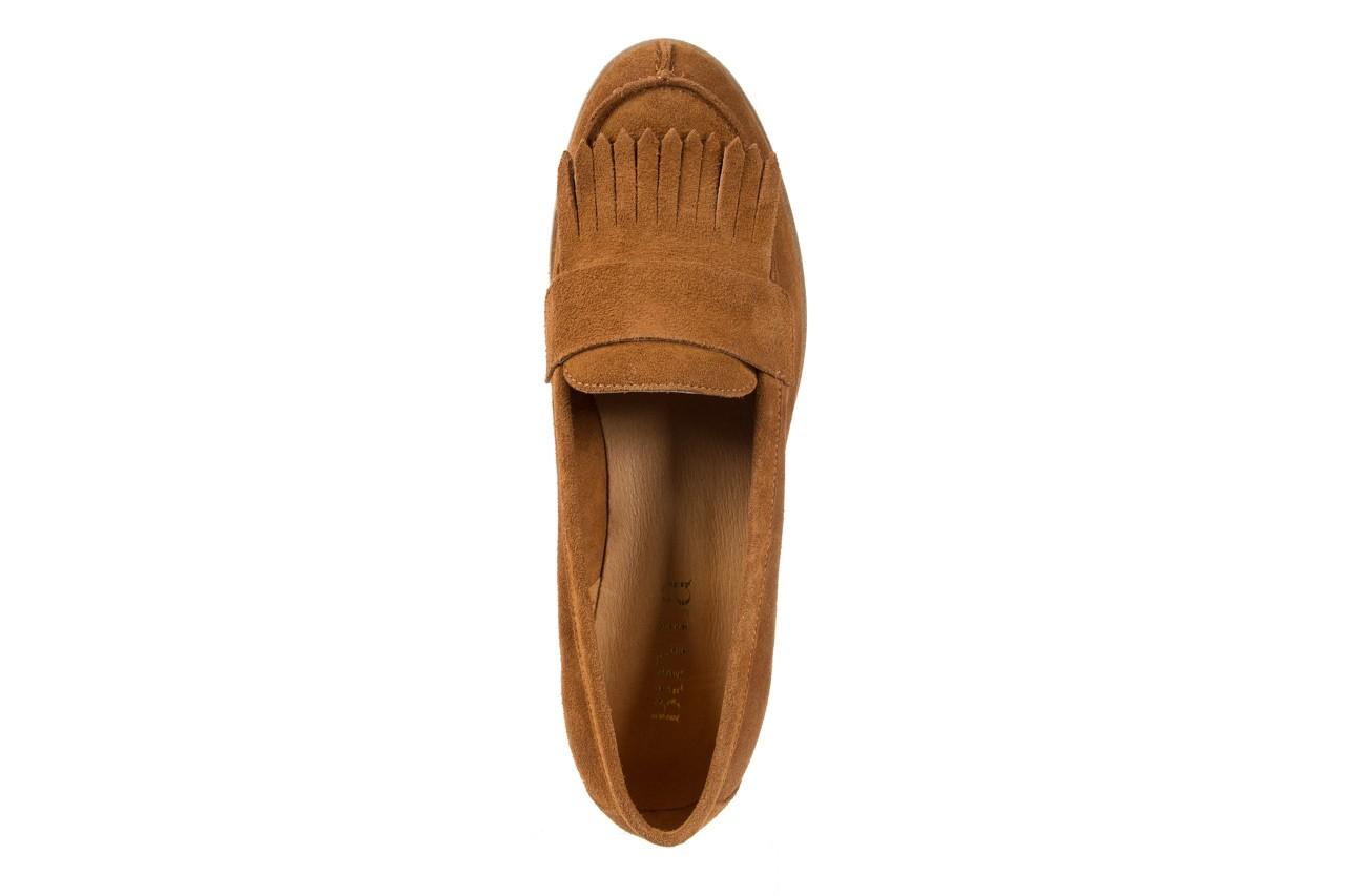 Mokasyny bayla-118 3076 crosta cuoio, brąz, skóra naturalna  - zamszowe - półbuty - buty damskie - kobieta 11