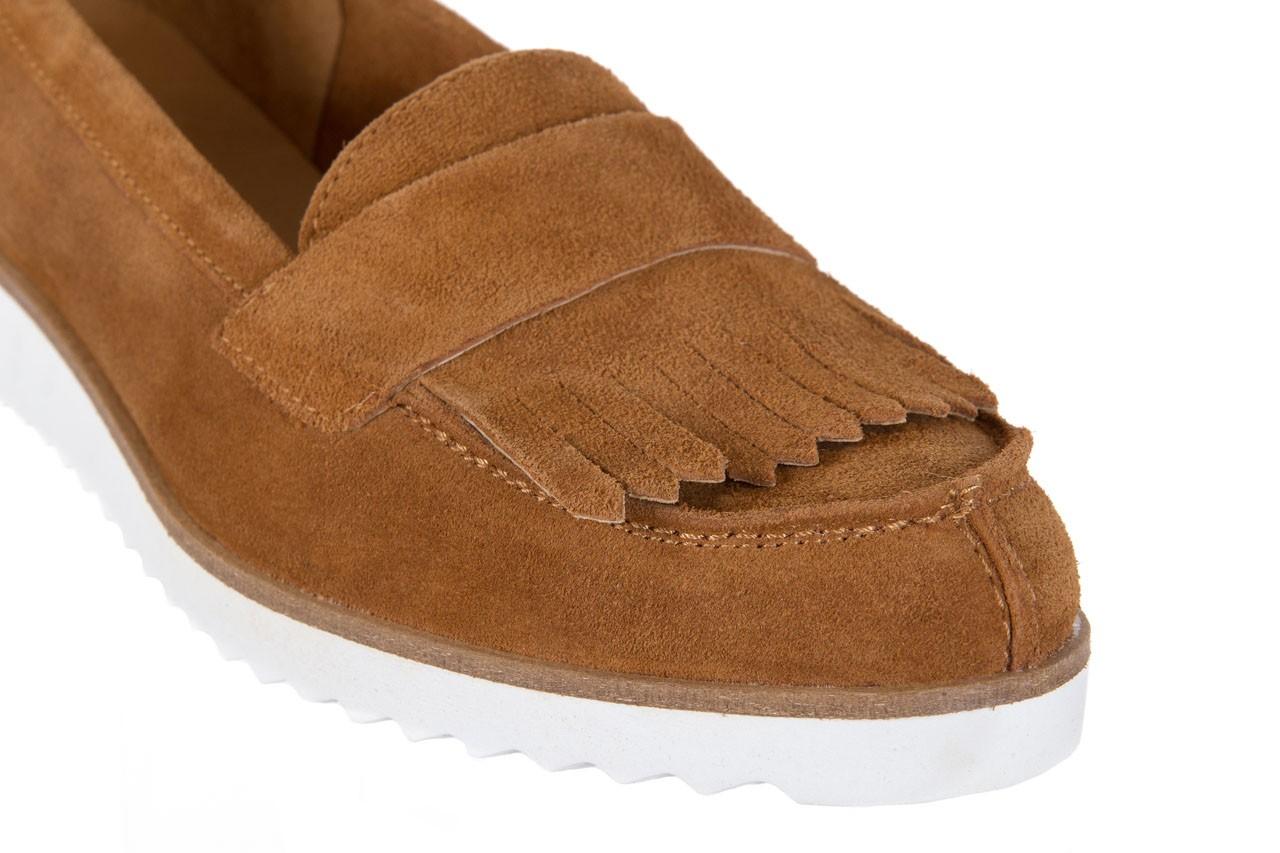 Mokasyny bayla-118 3076 crosta cuoio, brąz, skóra naturalna  - zamszowe - półbuty - buty damskie - kobieta 12