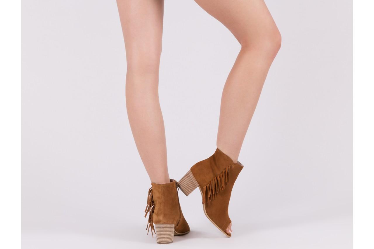 Botki bayla-118 3113 crosta nero, czarny, skóra naturalna  - kowbojki / boho - botki - buty damskie - kobieta 13