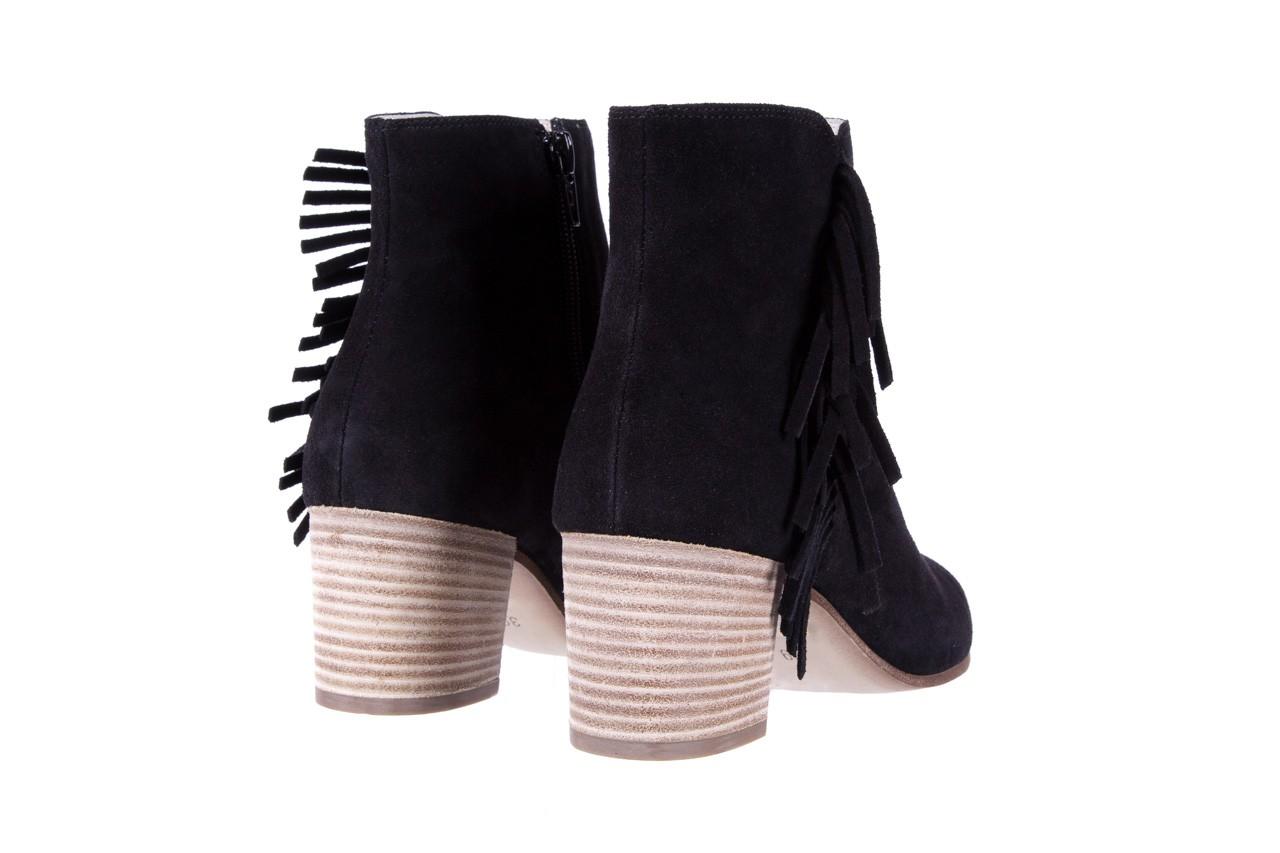 Botki bayla-118 3113 crosta nero, czarny, skóra naturalna  - kowbojki / boho - botki - buty damskie - kobieta 11