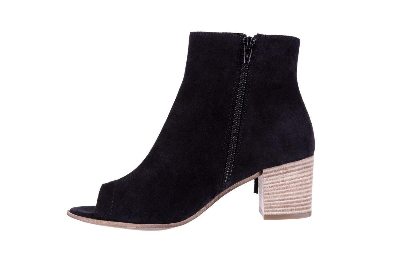 Botki bayla-118 3113 crosta nero, czarny, skóra naturalna  - kowbojki / boho - botki - buty damskie - kobieta 10