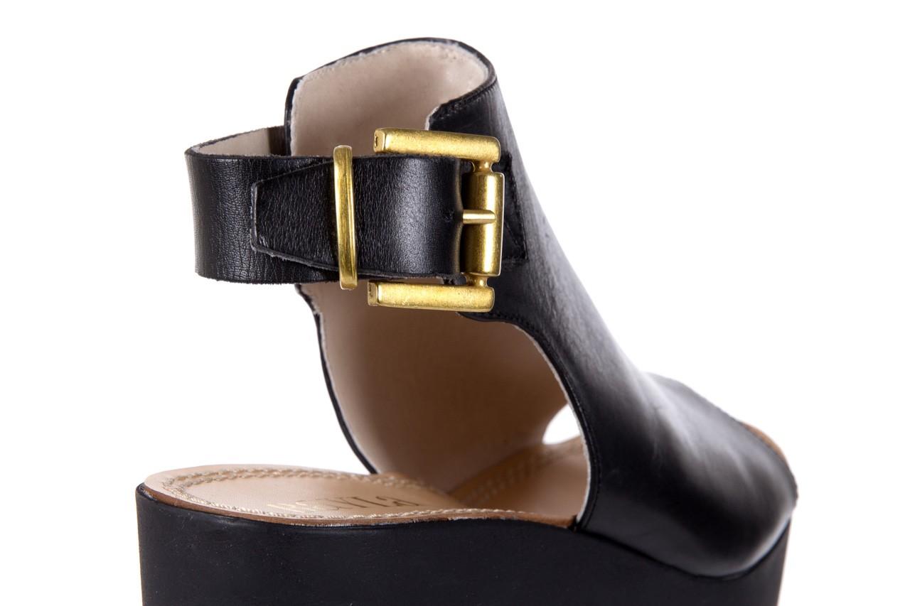 Sandały bayla-118 5056 flag nero, czarny, skóra naturalna  - bayla - nasze marki 12