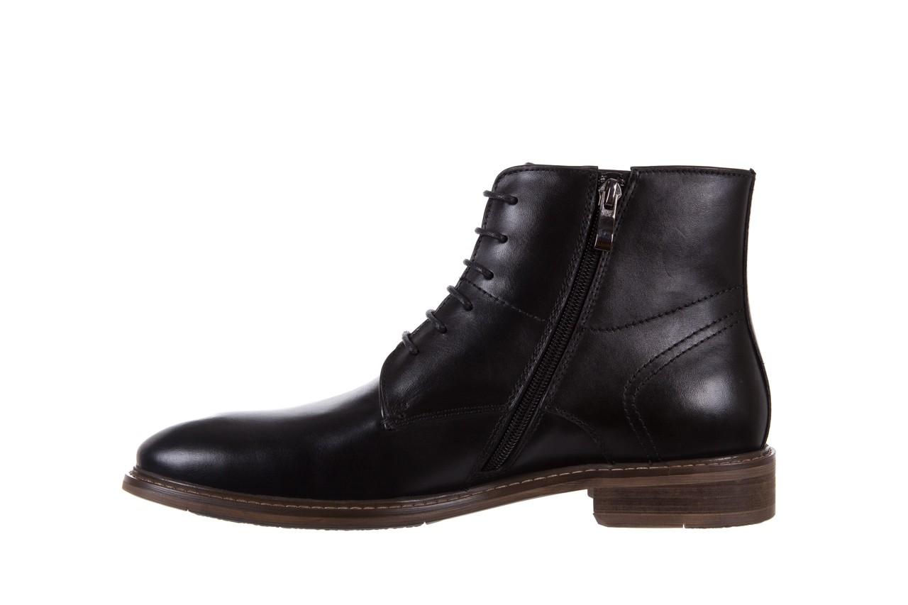 Trzewiki bayla-122 at1315-4 black, czarny, skóra naturalna  - trzewiki - buty męskie - mężczyzna 8