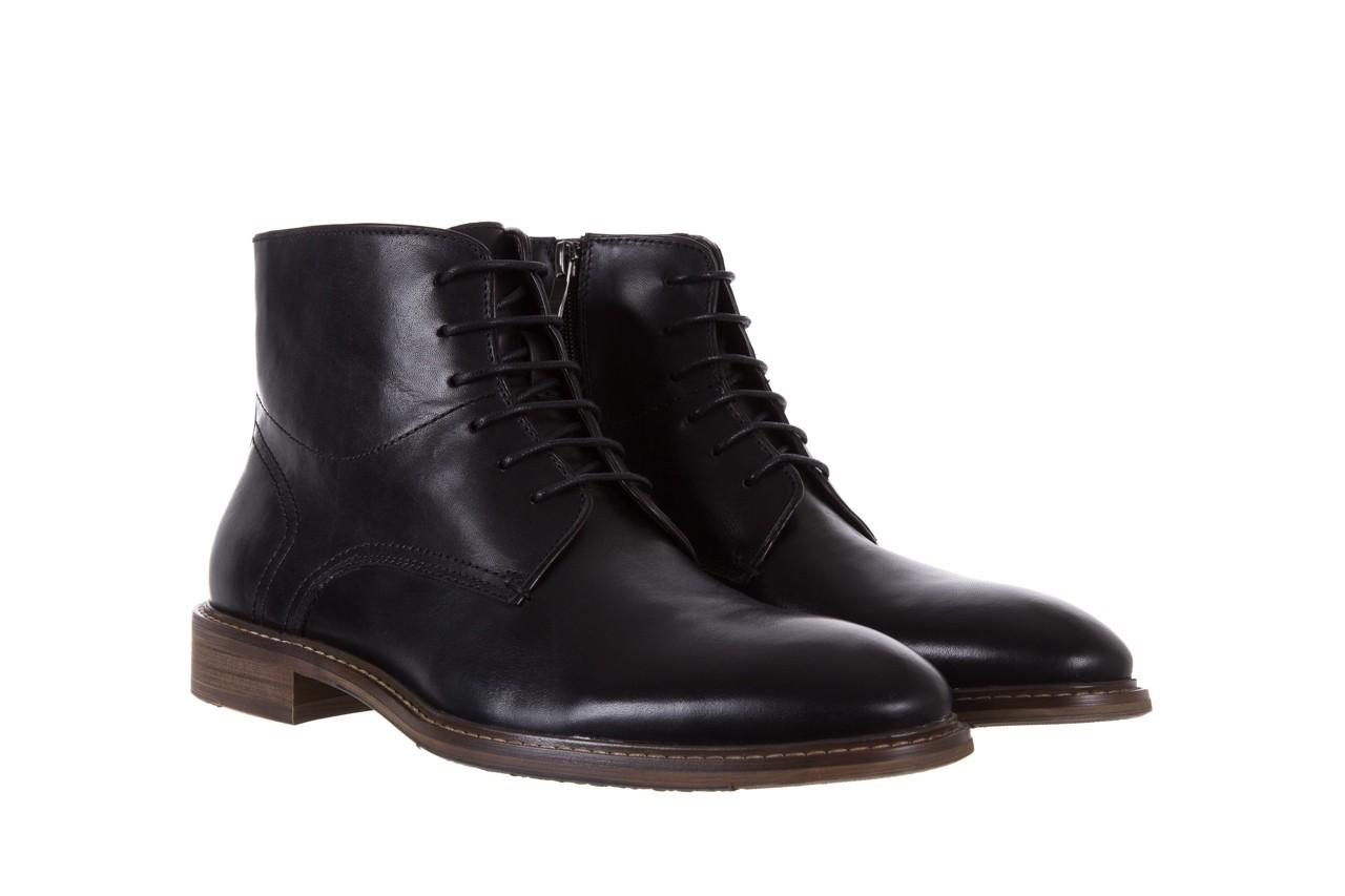 Trzewiki bayla-122 at1315-4 black, czarny, skóra naturalna  - trzewiki - buty męskie - mężczyzna 7
