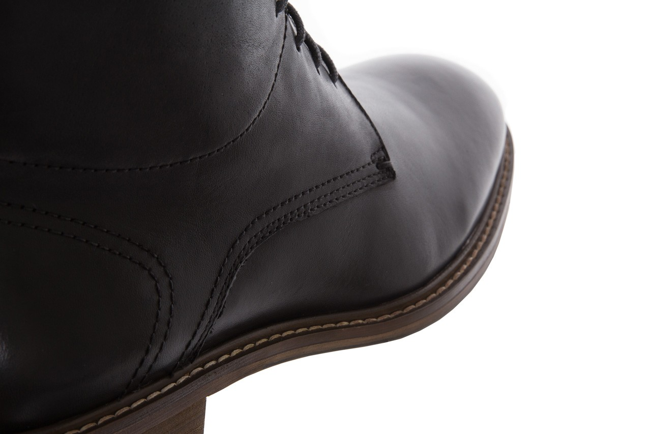 Trzewiki bayla-122 at1315-4 black, czarny, skóra naturalna  - trzewiki - buty męskie - mężczyzna 11