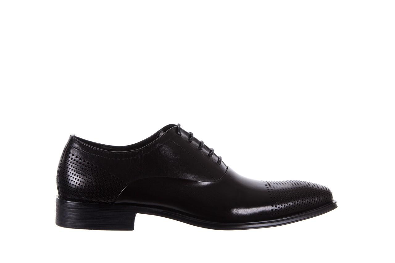Półbuty bayla-122 at1328-1 black, czarny, skóra naturalna  - obuwie wizytowe - buty męskie - mężczyzna 6