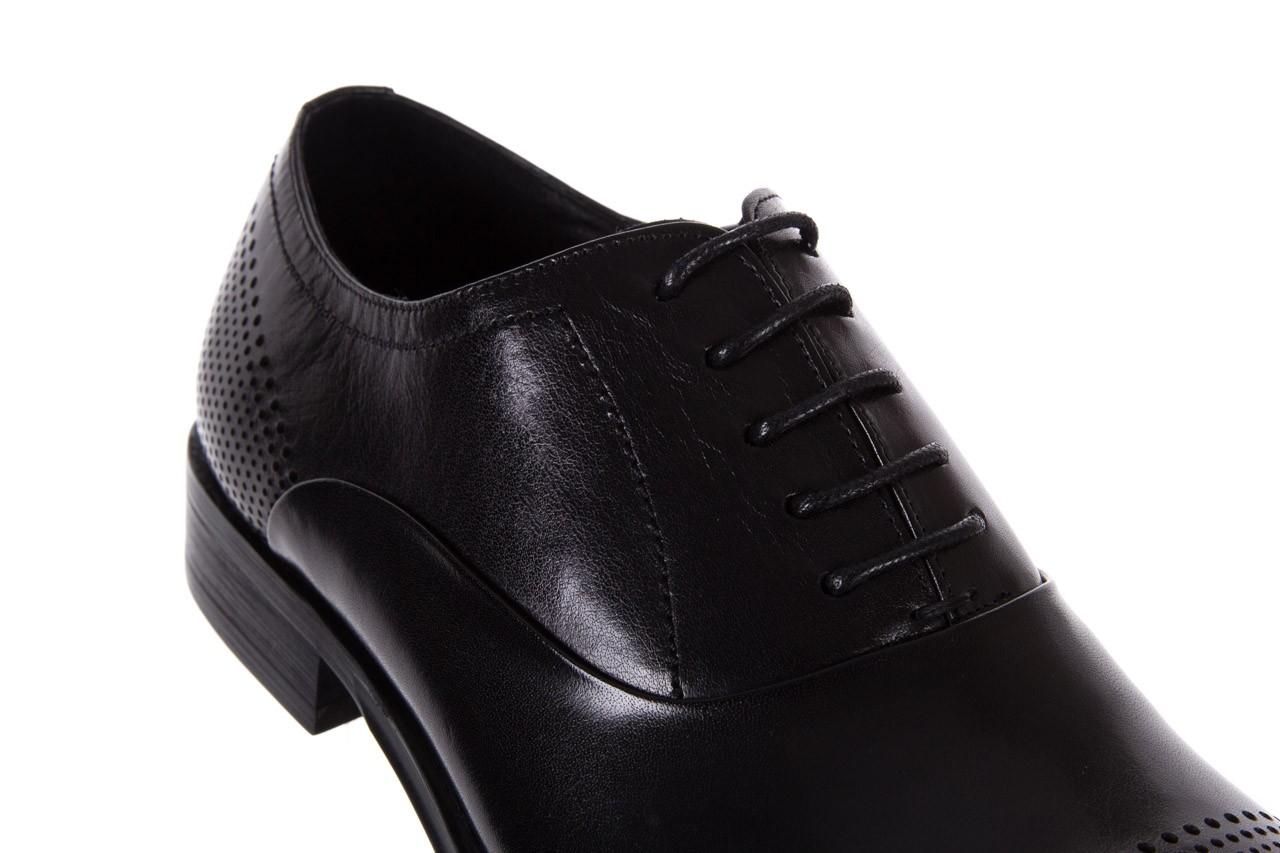 Półbuty bayla-122 at1328-1 black, czarny, skóra naturalna  - obuwie wizytowe - buty męskie - mężczyzna 11