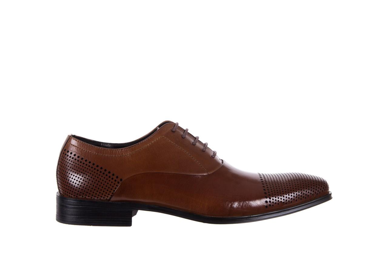 Półbuty bayla-122 at1328-1 brown, brąz, skóra naturalna  - obuwie wizytowe - buty męskie - mężczyzna 6