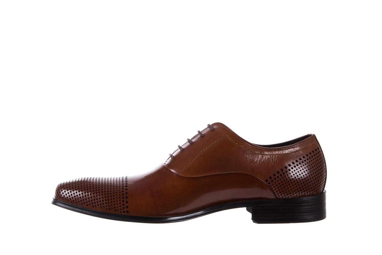 Półbuty bayla-122 at1328-1 brown, brąz, skóra naturalna  - obuwie wizytowe - buty męskie - mężczyzna 8