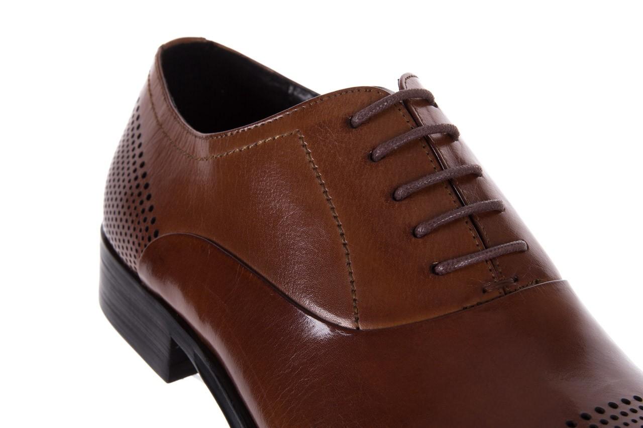Półbuty bayla-122 at1328-1 brown, brąz, skóra naturalna  - obuwie wizytowe - buty męskie - mężczyzna 11