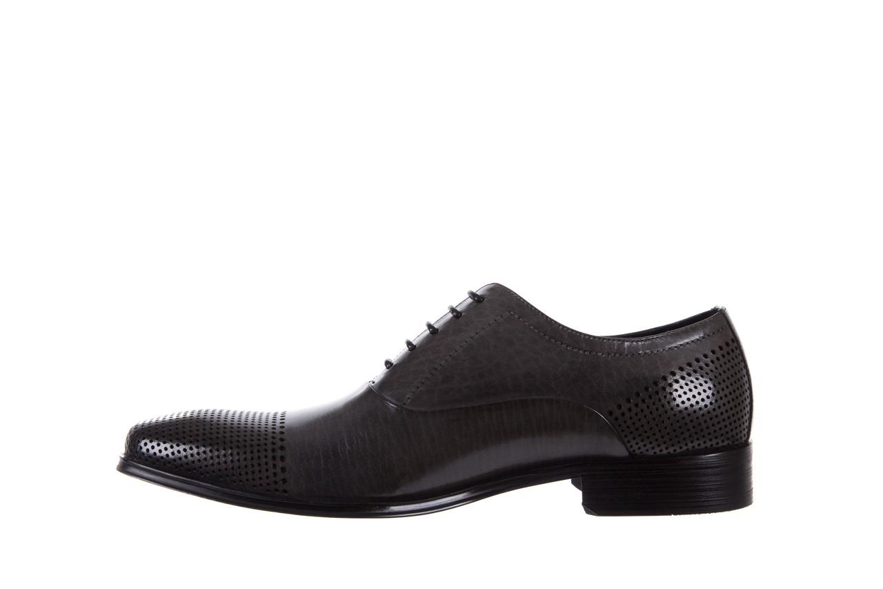 Półbuty bayla-122 at1328-1 grey, szary, skóra naturalna  - obuwie wizytowe - buty męskie - mężczyzna 8