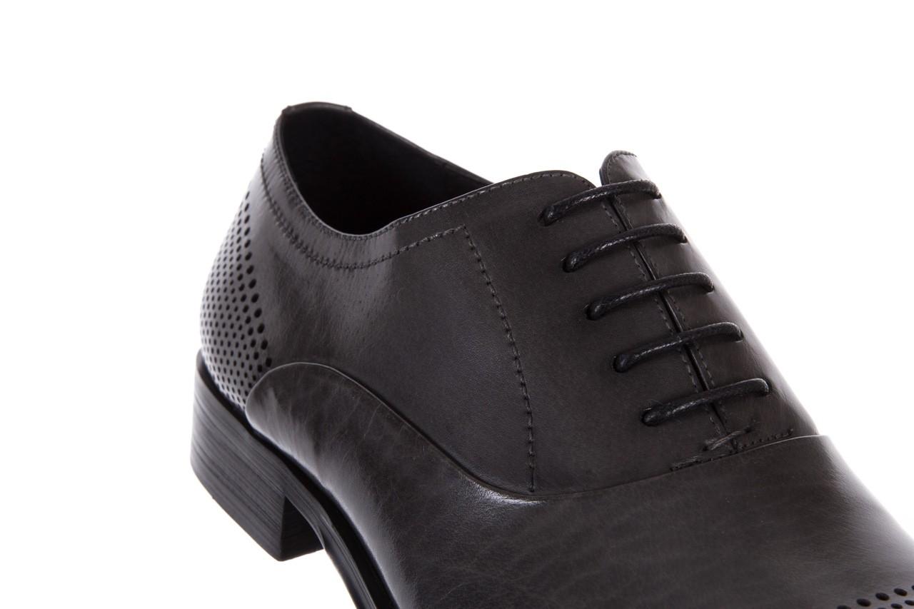 Półbuty bayla-122 at1328-1 grey, szary, skóra naturalna  - obuwie wizytowe - buty męskie - mężczyzna 11