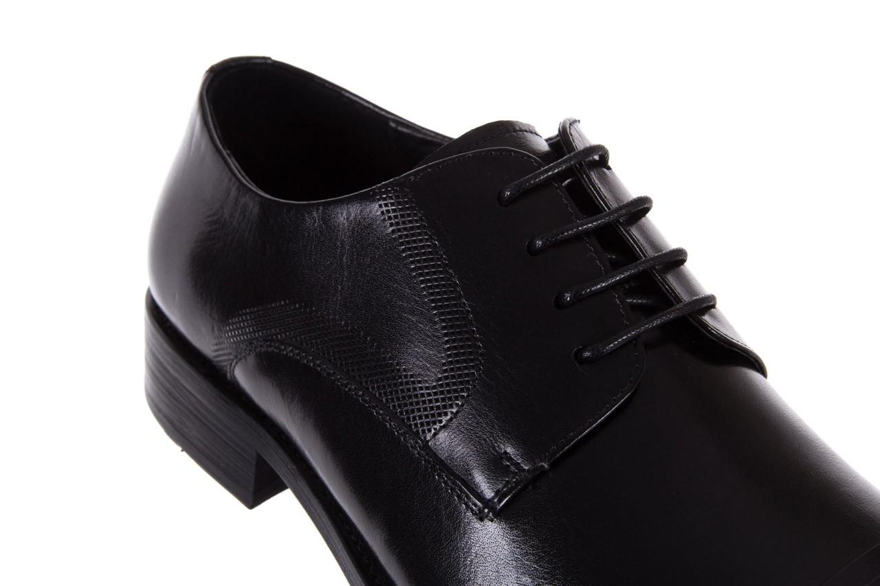 Półbuty bayla-122 at1329-1 black, czarny, skóra naturalna  - obuwie wizytowe - buty męskie - mężczyzna 11
