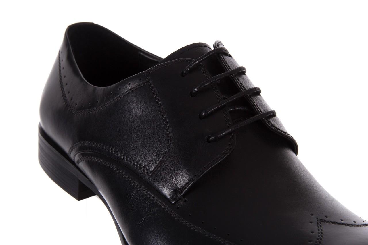 Półbuty bayla-122 at1350-1 black, czarny, skóra naturalna  - trendy - mężczyzna 12
