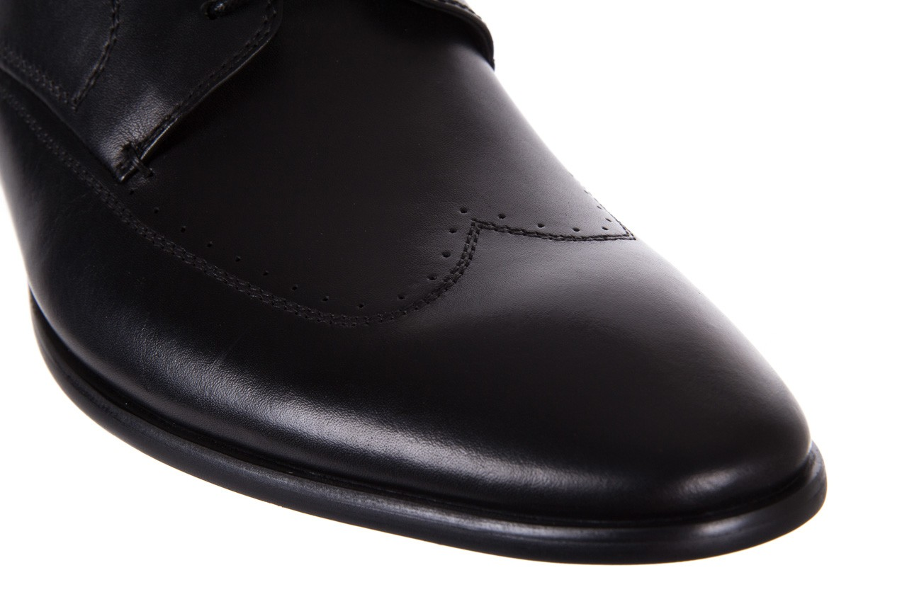 Półbuty bayla-122 at1350-1 black, czarny, skóra naturalna  - trendy - mężczyzna 13