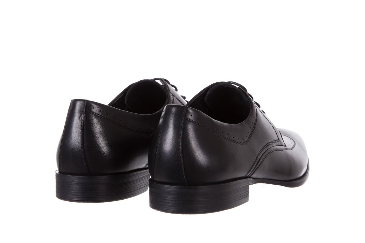 Półbuty bayla-122 at1350-1 black, czarny, skóra naturalna  - trendy - mężczyzna 10