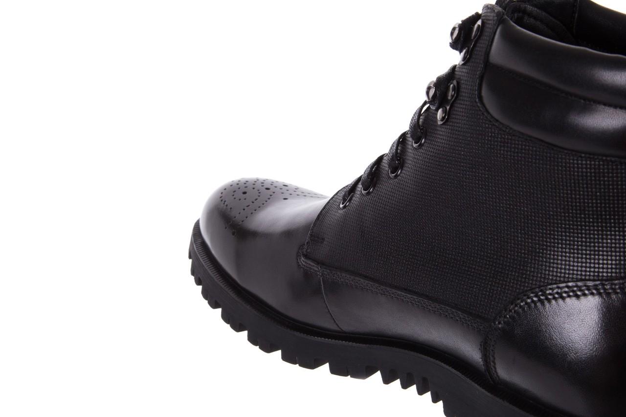 Trzewiki bayla-122 at1432-1 black, czarny, skóra naturalna - trzewiki - buty męskie - mężczyzna 12