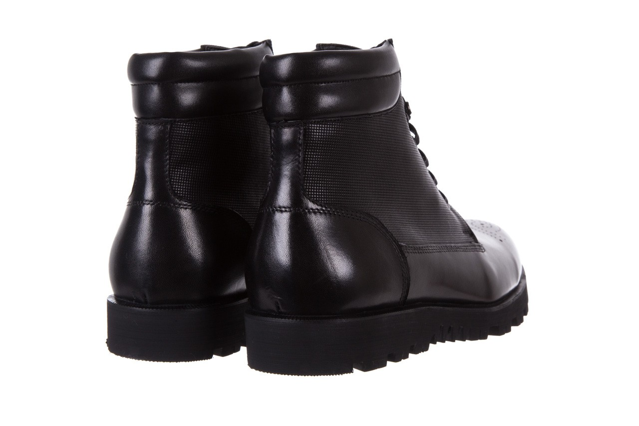 Trzewiki bayla-122 at1432-1 black, czarny, skóra naturalna - trzewiki - buty męskie - mężczyzna 10
