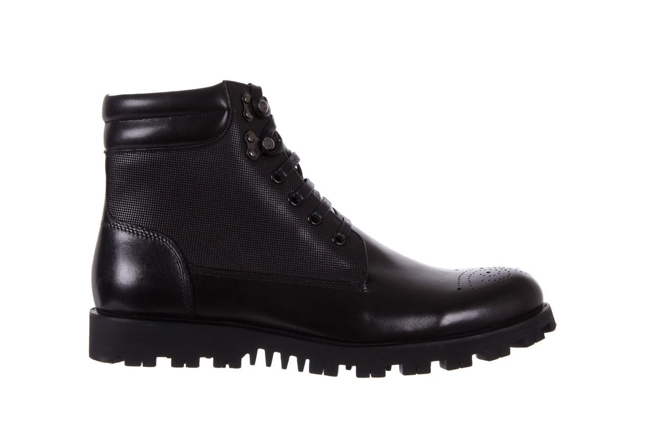 Trzewiki bayla-122 at1432-1 black, czarny, skóra naturalna - trzewiki - buty męskie - mężczyzna 7