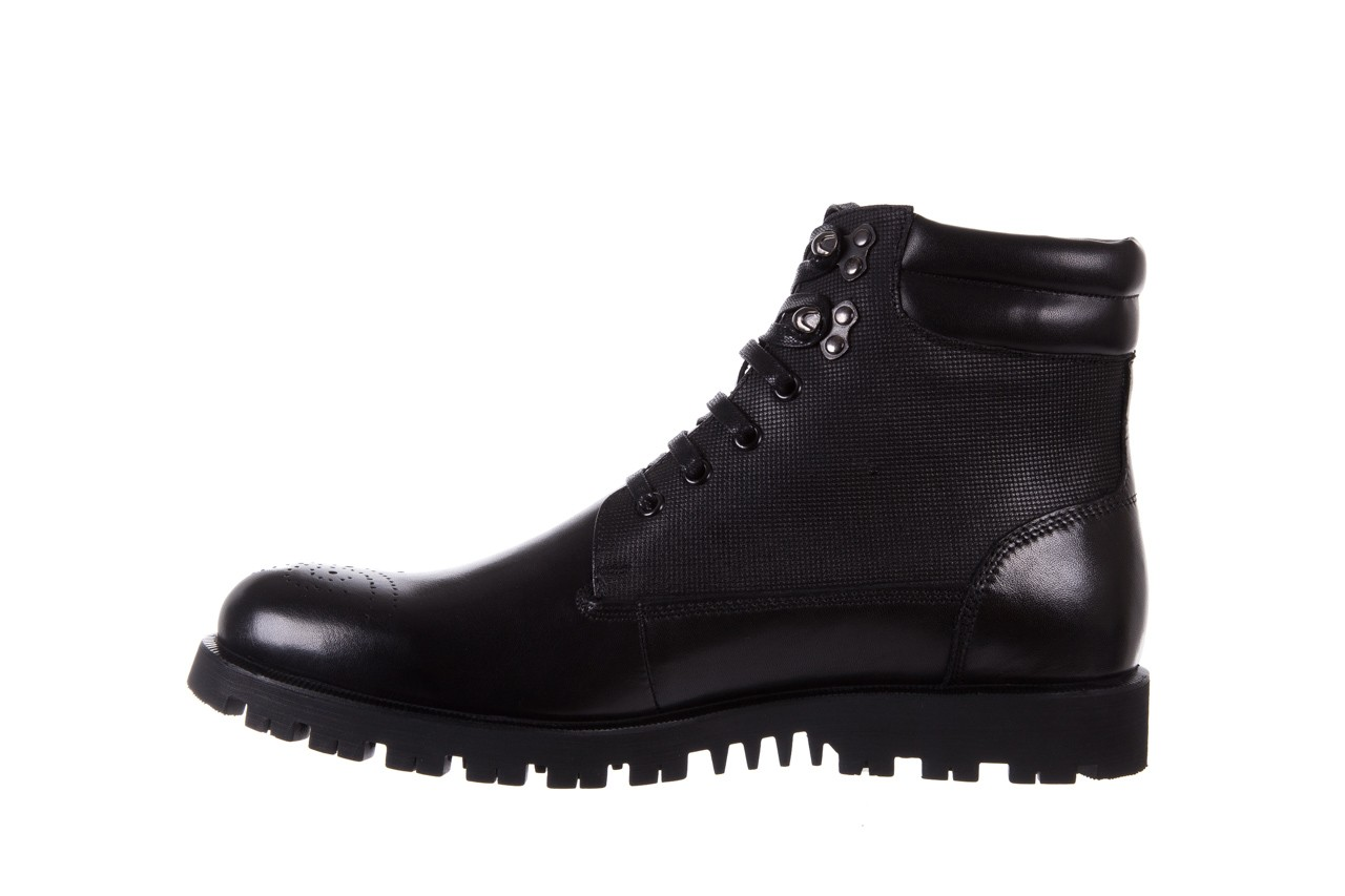 Trzewiki bayla-122 at1432-1 black, czarny, skóra naturalna - trzewiki - buty męskie - mężczyzna 9