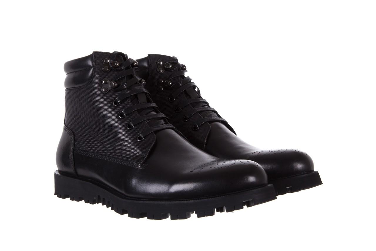 Trzewiki bayla-122 at1432-1 black, czarny, skóra naturalna - trzewiki - buty męskie - mężczyzna 8