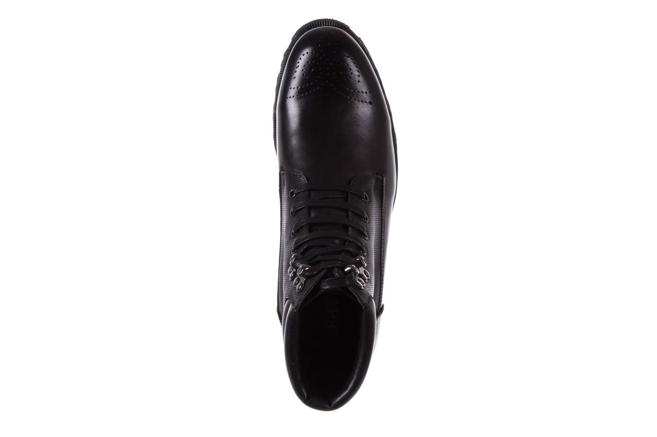 Trzewiki bayla-122 at1432-1 black, czarny, skóra naturalna - trzewiki - buty męskie - mężczyzna 11