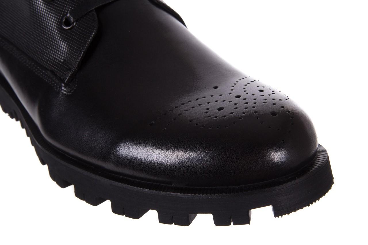 Trzewiki bayla-122 at1432-1 black, czarny, skóra naturalna - trzewiki - buty męskie - mężczyzna 13
