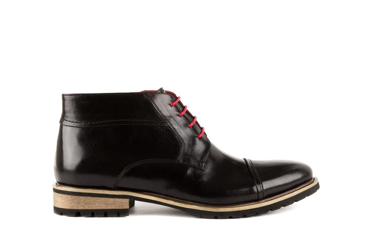 Trzewiki bayla-122 at229-1 black, czarny, skóra naturalna - obuwie wizytowe - dla niego - sale 6
