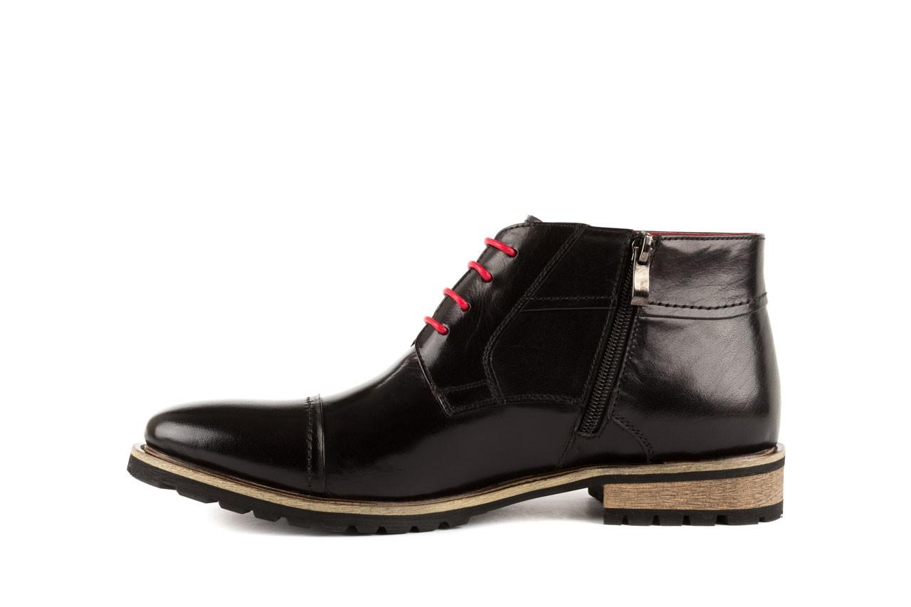Trzewiki bayla-122 at229-1 black, czarny, skóra naturalna - obuwie wizytowe - dla niego - sale 8